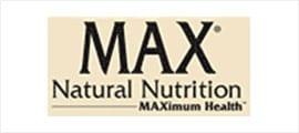 Max Natural Nutrition